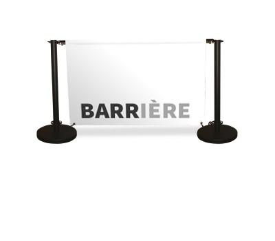 Barrière délimitation 200cm