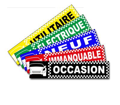 icone caches plaques auto